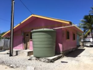 Rain Water collection on the island of Majuro, Marshall Islands  3 Feb 2017